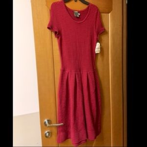 Taylor Size Small Red Dress